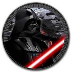 Star Wars Darth Vader - Niue 2017 1 uncia ezüst pénzérme ruténium bevonattal