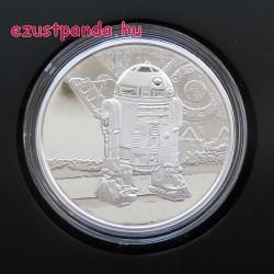 Star Wars R2D2 - Niue 2016 1 uncia ezüst pénzérme