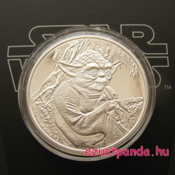 Star Wars YODA - Niue 2016 1 uncia ezüst pénzérme