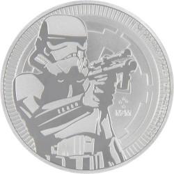 Star Wars Rohamosztagos - Niue 2018 1 uncia ezüst pénzérme