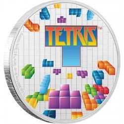 Tetris 35 éves - Niue 2019 1 uncia ezüst pénzérme