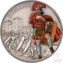 Harcosok - Rómaiak 2017 1 uncia ezüst pénzérme