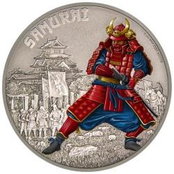 Harcosok - Szamuráj 2016 1 uncia ezüst pénzérme