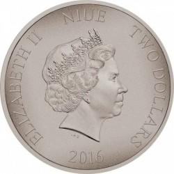 Harcosok - Spártaiak 2016 1 uncia ezüst pénzérme