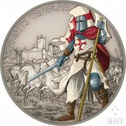Harcosok - Templomos lovag 2017 1 uncia ezüst pénzérme