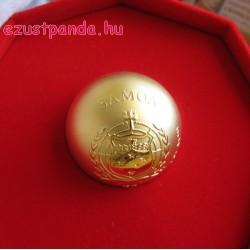 Mozartkugel csokigolyó 1 uncia aranyozott ezüst pénzérme