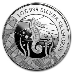 Csikóhal 2018 1 uncia ezüst pénzérme Szamoa