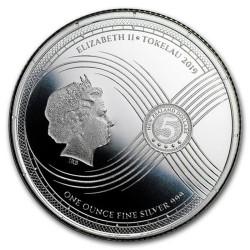Chronos - Az Idő Tokelau 2019 1 uncia ezüst pénzérme, normál veret