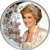 Diana walesi hercegné 2021 Tokelau 1 uncia proof ezüst pénzérme - CSAK 1500 PÉLDÁNY!