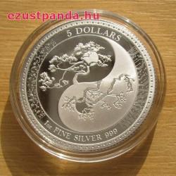 Equilibrium - Egyensúly Tokelau 2018 proof ezüst pénzérme