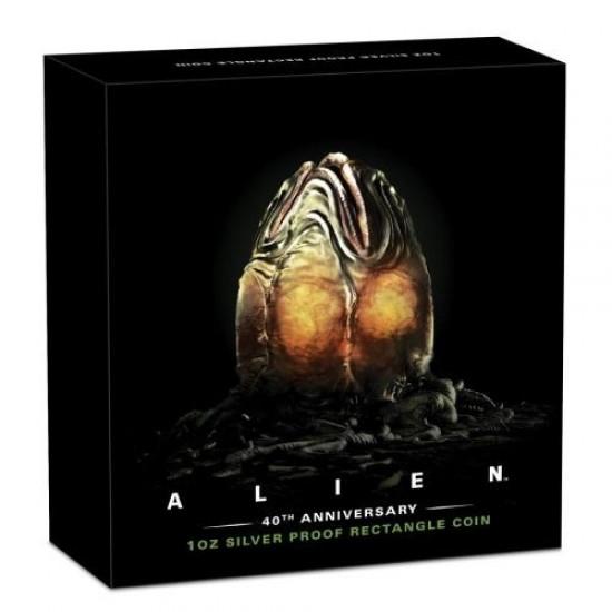 Alien - A nyolcadik utas: a Halál - Tuvalu 2019 1 uncia ezüst pénzérme