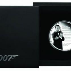 James Bond Örökség - Sean Connery Tuvalu 2021 1 uncia proof ezüst pénzérme