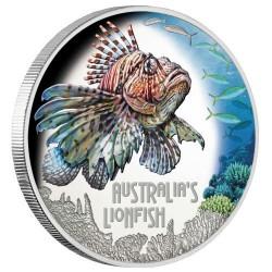 Tűzhal 2019 1 uncia proof ezüst pénzérme