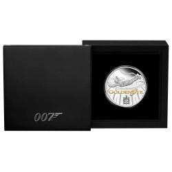 GoldenEye - Aranyszem - James Bond 25. évforduló 2020 1 uncia proof ezüst pénzérme