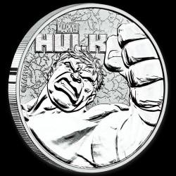 Hulk 2019 1 uncia ezüst pénzérme