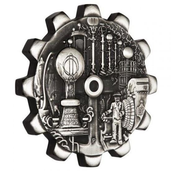 Az ipar fejlődése 2x1 uncia ezüst pénzérme