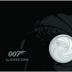 James Bond 007 1 uncia ezüst pénzérme tokban