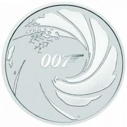 James Bond 007 1 uncia ezüst pénzérme