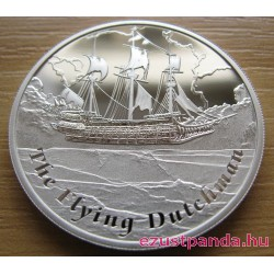 Mesebeli hajók - A Bolygó Hollandi 2013 1 uncia proof ezüst pénzérme