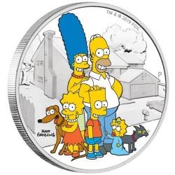 Simpson család 2019 Tuvalu 2019 2 uncia ezüst pénzérme