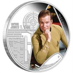 Star Trek - James T. Kirk kapitány 2015 1 uncia proof ezüst pénzérme
