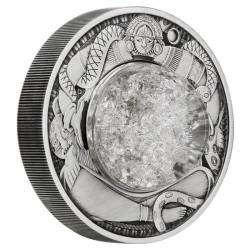 A Hold könnyei 2021 Tuvalu 2 uncia antikolt ezüst pénzérme
