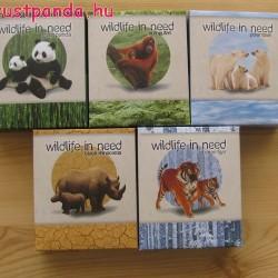Veszélyeztetett állatvilág (Wildlife In Need) 2011-12 5x1 uncia proof ezüst pénzérmesorozat