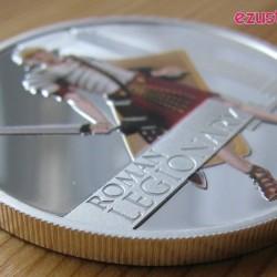 Római legionárius 2010 1 uncia színes proof ezüst pénzérme