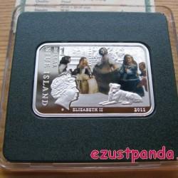 A Világ festői: Velazquez - Niue 2011 színes ezüst pénzérme