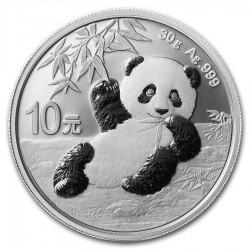 Panda 2020 30 gramm ezüst pénzérme - KÉSZLETEN!