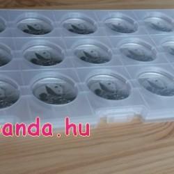 Panda 2019 15x 30 gramm ezüst pénzérme befektetési csomag