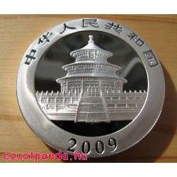 Panda 2009 1 uncia ezüst pénzérme