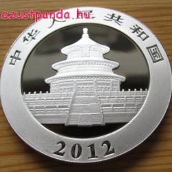 Panda 2012 1 uncia ezüst pénzérme