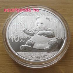 Panda 2017 30 gramm ezüst pénzérme