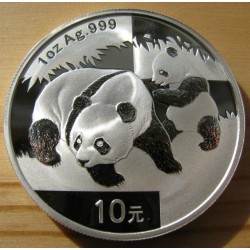 Panda 2008 1 uncia ezüst pénzérme