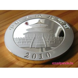 Panda 2010 1 uncia ezüst pénzérme