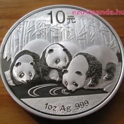 Panda 2013 1 uncia ezüst pénzérme