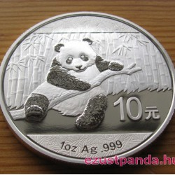 Panda 2014 1 uncia ezüst pénzérme