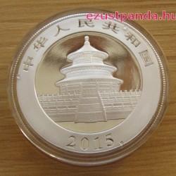 Panda 2015 1 uncia ezüst pénzérme