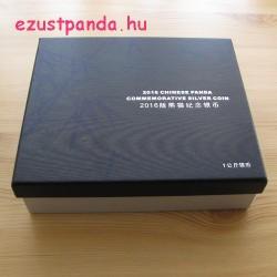 Panda 2016 1 kg proof ezüst pénzérme