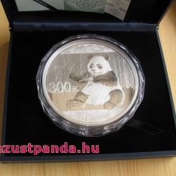 Panda 2017 1 kg proof ezüst pénzérme