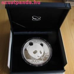 Panda 2018 1 kg proof ezüst pénzérme
