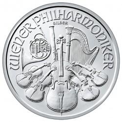 20x Philharmoniker 2021 1 uncia ezüst pénzérme (teljes tubus) - CSAK 11.990 FT/DB!!