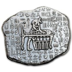 Ezüstrúd relikvia 1 uncia Anubis egyiptomi isten