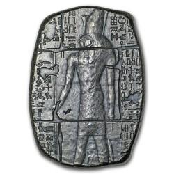 Ezüstrúd relikvia 3 uncia Horus egyiptomi isten