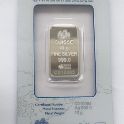 Ezüstrúd 10 gramm PAMP (svájci)