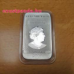 Ezüstrúd Sárkány 2019 1 uncia ausztrál Perth Mint