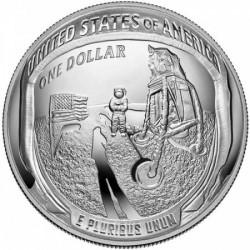 Apollo 11 USA 2019 1 uncia proof ezüst pénzérme