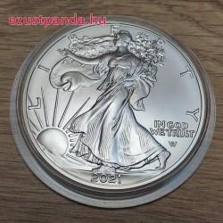 US Eagle - Sas 2021 1 uncia ezüst pénzérme - ÚJ SAS MOTÍVUMMAL!