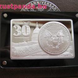 Amerikai Sas  - US Eagle - 2016 3 uncia ezüst szett